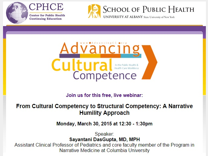 Webinar on Cultural Competency